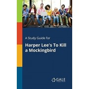 A Study Guide for Harper Lee's to Kill a Mockingbird, Paperback/Cengage Learning Gale