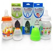 Combo Set of 3 Baby Feeding Bottle 150ml Print Feeding Bottle