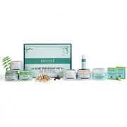 Sattvik Organics Acne Free Kit For Oil - Free Spotless Skin Heals Stubborn Acne Pimples Prevents Black Heads