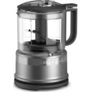 KitchenAid 3.5 Cup Mini Food Processor Contour Silver (KFC3516CU) 500 W Food Processor(Contour Silver)