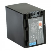 FECHA NP-FV100 7.4V bateria 5700mAh + cargador de bateria para camara Sony - negro (100 ~ 240V)