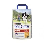 Hrana uscata pentru caini Dog Chow Active cu pui, 2,5 kg