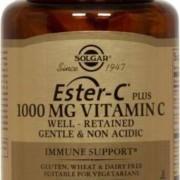 Solgar Ester-C Plus 1000 mg 60 tabletter