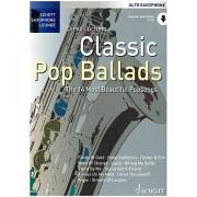 Schott Saxophone Lounge - Classic Pop Ballads Libro de partituras