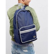 Fred Perry Twin Tipped Backpack in Navy - Navy