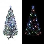 Sonata Изкуствено коледно дърво със стойка/LED, 210 см, 280 клона