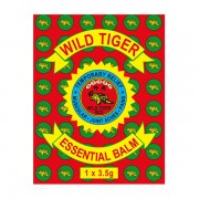Wild Tiger Essential Balm 1 x 3,5g tin (in sachet)