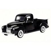Motor Max 1940 Ford Pickup, Matte Black - 73170TC/BK 1/18 Scale Diecast Model Toy Car