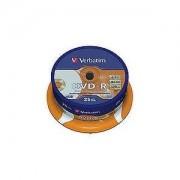 DVD-R 16X 4.7GB AZO PRINTABLE SPINDLE 50