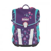 Scout Schooltas Basic Sunny Blueberry