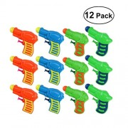 TOYMYTOY TOYMYTOY Plastic Water Squirt Toy for Kids Watering Game (Random Color) - 12pcs