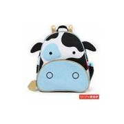 Mochila Zoo Vaca Skip Hop Azul e Preta - B-16-022