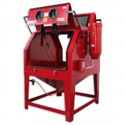 SOGI Sabbiatrice professionale SOGI S-320 cabina di sabbiatura con doppia apertura e aspiratore