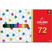 Colleen Pencil Crayons - Box of 72 Assorted Colours