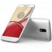"Celular Motorola Moto M XT1662, 5.5"" ROM 32GB + RAM 4GB - Plateado"