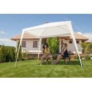 Baštenska tenda bez bočnih strana bela 2.7 x 2.7 m