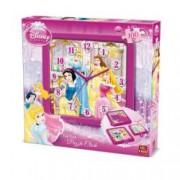 Puzzle 100 piese + ceas Disney Princess