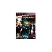 Bundle The Darkness Ii Bioshock 2 Mafia Ii - Ps3