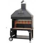Scintilla classic 130 mobilný záhradný gril na drevo.