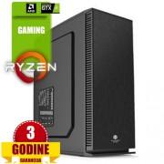 A-Comp Fighter, AMD Ryzen 5 2400G/8GB/HDD 2TB/GTX1050-Ti/DVD