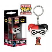 Pop! Keychain DC Comics Batman Harley Quinn Pop! Vinyl Keychain