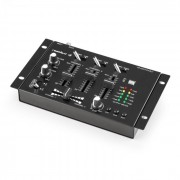 AUNA TMX-2211 mesa DJ de 3/2 canais com entrada de micro