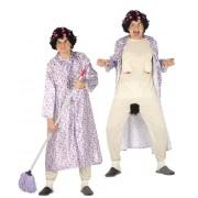 Guirca Disfraz de abuela exhibicionista - Talla M