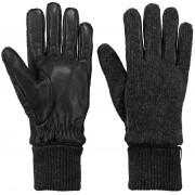 Barts Handschuhe Bhric Schwarz - Schwarz Größe L