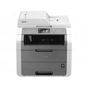 Brother DCP-9020CDW Multifunctionele kleurenlaserprinter Printen, Kopiëren, Scannen LAN, USB, WiFi