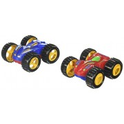 2 Friction Rev Em Up Toy Racing Flip Cars Set Costume Accessory