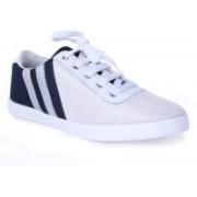Rsole White & Blue Sneakers Sneakers For Men(White, Black)