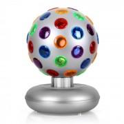 OneConcept Disco Ball Party Light efect 7W de argint (RBL1-DISCO-BALL)