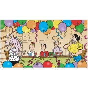 Puzzle panoramic PuzzelMan - Bob and Bobette: Tart with cream, 27 piese XXL (43308)