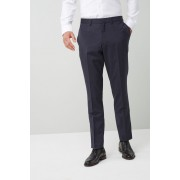 Mens Next Skinny Fit Signature Suit: Trouser - Navy Trousers