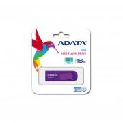 Unidad Flash USB 2.0 Adata C008 De 16 GB. Color Morado. AC008-16G-RPU