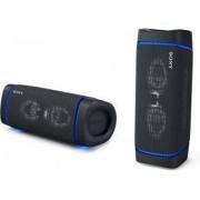 Тонколони Sony SRS-XB33 Portable Bluetooth Speaker, Черни, SRSXB33B.CE7
