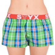 Styx Dámské trenky Styx sportovní guma vícebarevné (T618) S