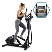 Capital Sports Helix Track Vélo elliptique Bluetooth Application volant d'inertie 18kg