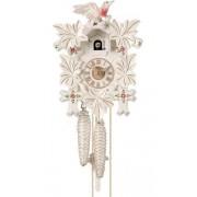 Luxusní dřevěné bílé No. 100 We - ručně řezané kukačky Hönes s jednodenním stroj