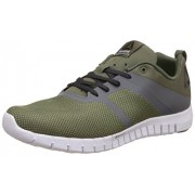 Reebok Men's Reebok Zquick Lite 2.0 Green, Grey, Coal, Alloy and Wht Running Shoes - 8 UK/India (42 EU) (9 US)