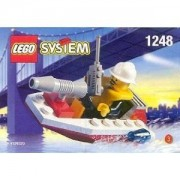 Lego City Mini Figure Set #1248 Fire Boat