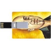 Printland Credit Card Shaped PC82833 8 GB Pen Drive(Multicolor)