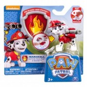 PAW PATROL Figurina si insigna action pack pup and badge