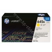 Тонер HP 645A за 5500/5550, Yellow (12K), p/n C9732A - Оригинален HP консуматив - тонер касета
