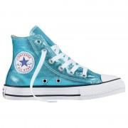Converse Sneakers Converse All Star Chuck Taylor Metallic Girl turchese (Colore: turchese metallizzato, Taglia: 28)