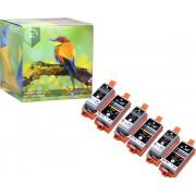Ink Hero - 6 Pack - Inktcartridge / Alternatief voor de Canon CLI-36, PGI-35, PIXMA iP100, iP110 wb