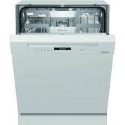 Miele G7100 SCi Brilliant White Built In Semi Integrated Dishwasher