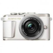 Olympus E-PL9 Pen vitt kamerahus + M.Zuiko 14-42/3,5-5,6 EZ ED MSC