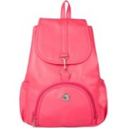 View Bags Backpacks for girls, School Bag, Collage , Traveling, casual, party 15 L Backpack(Pink)