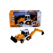 Maquina de construccion excavadora niveladora Dickie Toys